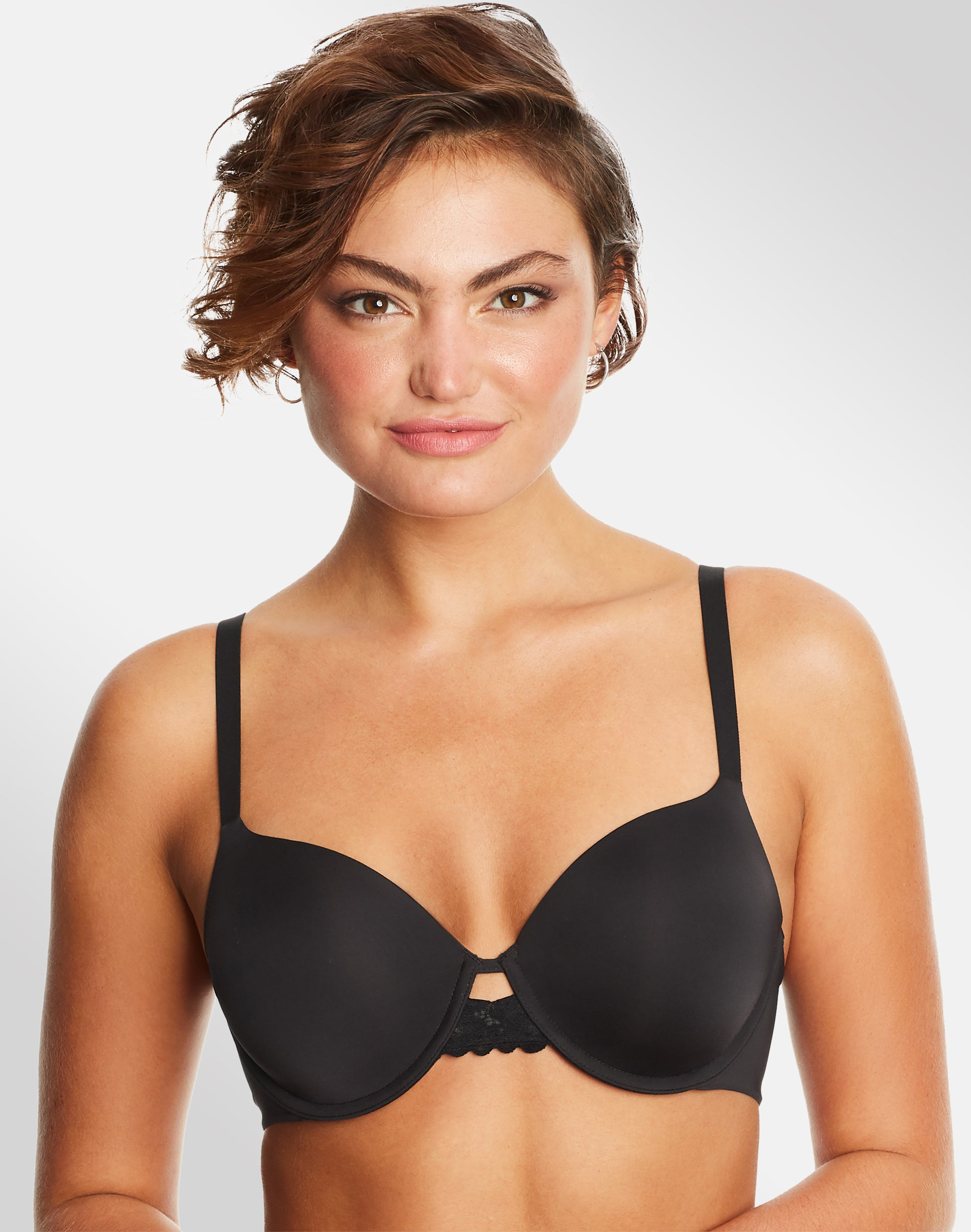 Maidenform Self Expressions 6660 Push Up and In Underwire Bra 38C Gray NWT