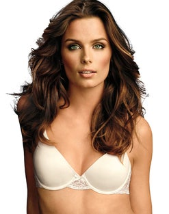 Comfy Soft with Lace Wing Demi Underwire Bra