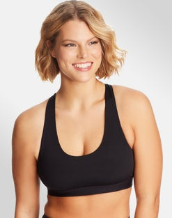 Sporty Racerback Sports Bra