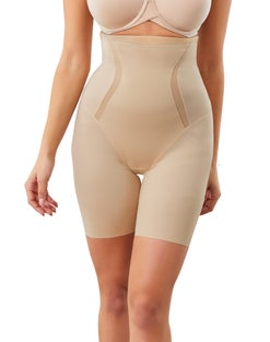 High Waist Thigh Slimmer with Cool Comfort® and Anti-Static