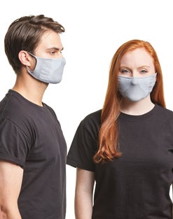 Hanes Signature Stretch-To-Fit Masks 6-Pack